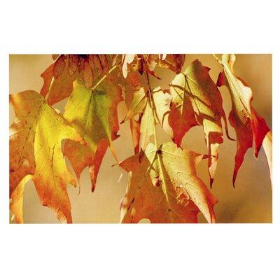 Angie Turner Autumn Leaves Vibrant Doormat