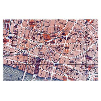 Alison Coxon City of London Map Doormat