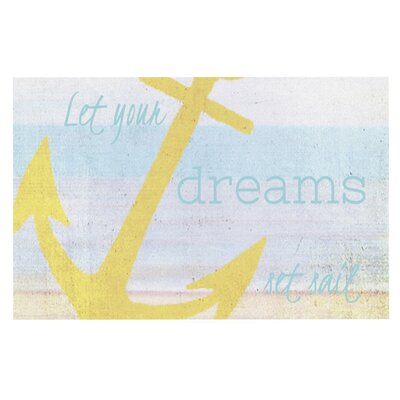 Alison Coxon Let Your Dreams Set Sail Doormat