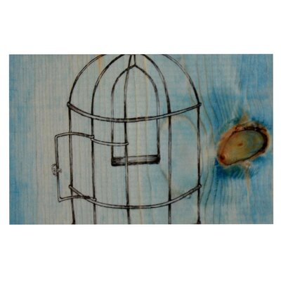 Brittany Guarino Bird Cage Decorative Doormat
