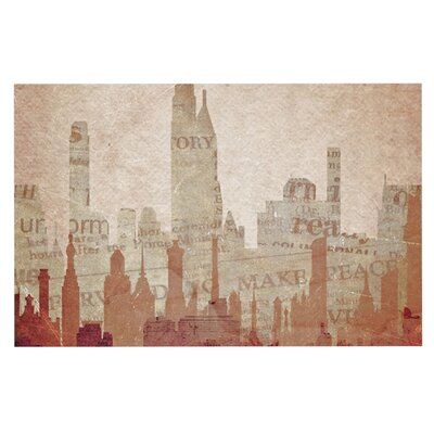 Alison Coxon City Warm Doormat
