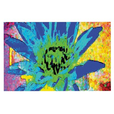 Anne LaBrie Wild Lotus Flower Doormat