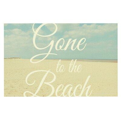 Alison Coxon Gone to the Beach Doormat