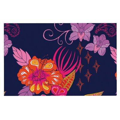 Anneline Sophia Tropical Paradise Floral Doormat
