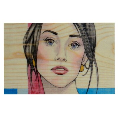 Brittany Guarino Face Decorative Doormat