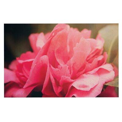 Angie Turner Camelia Flower Doormat