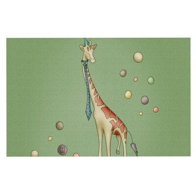 Carina Povarchik Giraffe Decorative Doormat