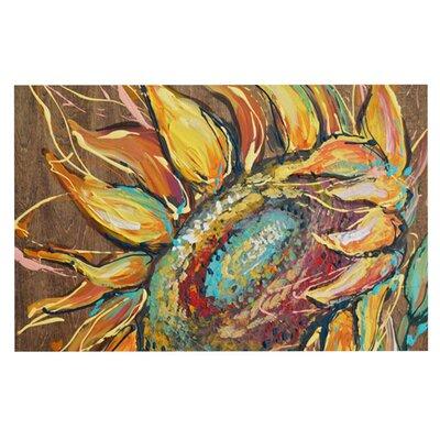 Brienne Jepkema Sunflower Flower Decorative Doormat