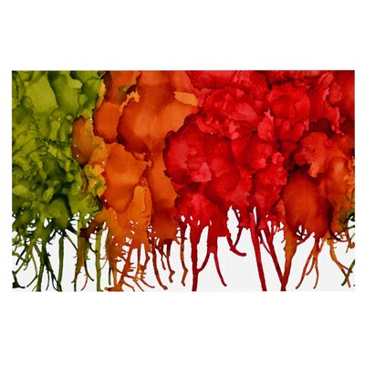 Claire Day Fall Splatter Decorative Doormat