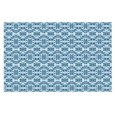 Empire Ruhl Circle Abstract Geometric Doormat