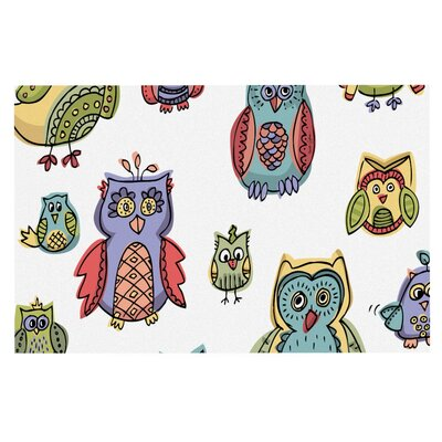 Brienne Jepkema Owls Decorative Doormat