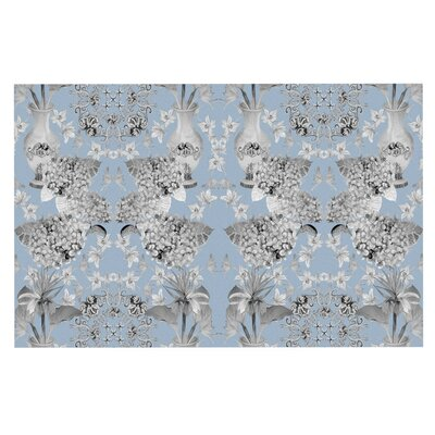 DLKG Design Versailles Doormat Color: Blue