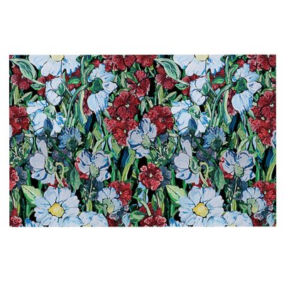 DLKG Design Giardino Garden Flowers Doormat