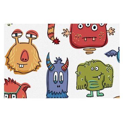 Brienne Jepkema Little Monsters Decorative Doormat