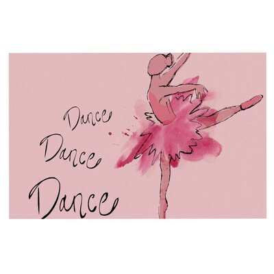 Brienne Jepkema Ballerina Decorative Doormat