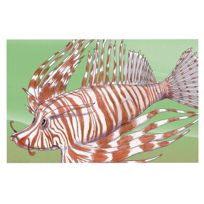 Catherine Holcombe Fish Manchu Decorative Doormat