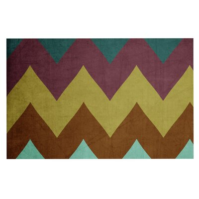 Catherine McDonald Mountain High Art Object Decorative Doormat
