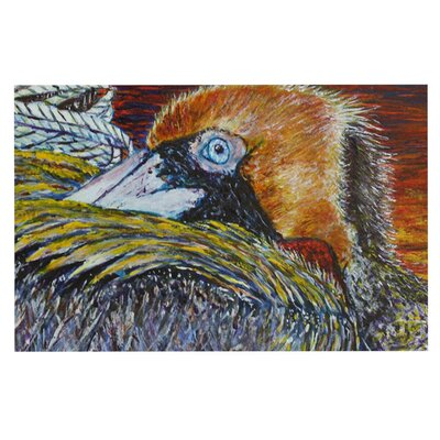 David Joyner Pelican Bird Doormat