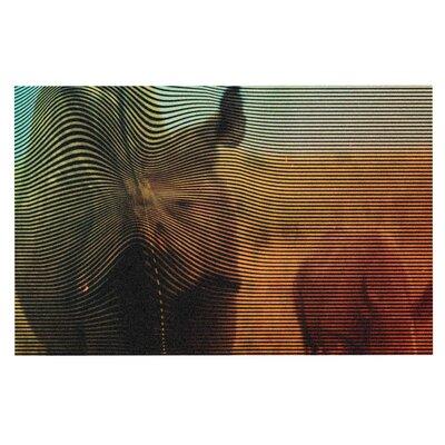 Danny Ivan Abstract Rhino Doormat