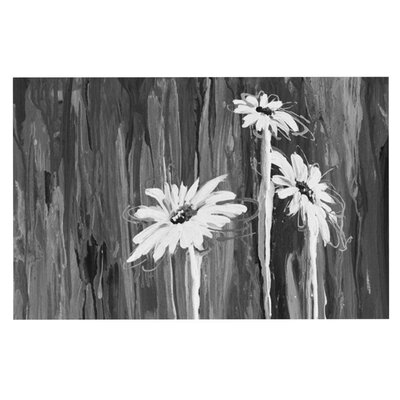 Brienne Jepkema Daises Flowers Decorative Doormat