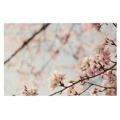 Catherine McDonald Japanese Cherry Blossom Decorative Doormat