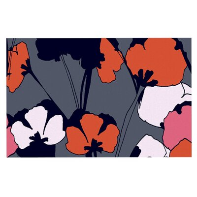Gabriela Fuente Pop Flowers Doormat