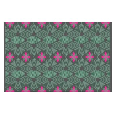 Deepti Munshaw #3 Doormat Color: Green/Pink