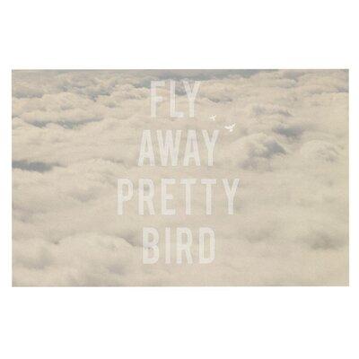 Catherine McDonald Fly Away Pretty Bird Decorative Doormat