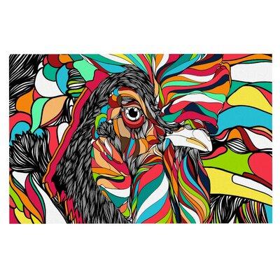 Danny Ivan Tropical Cock Doormat