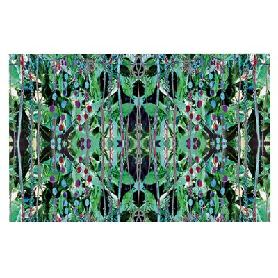 Danii Pollehn Grun Abstract Decorative Doormat