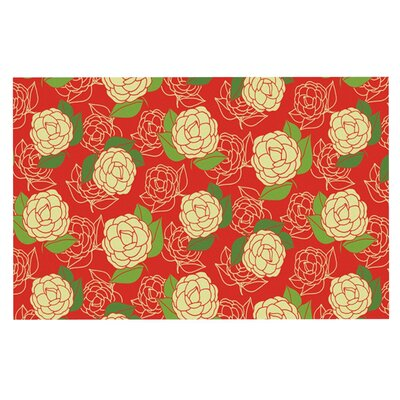 Holly Helgeson Cammelia Doormat