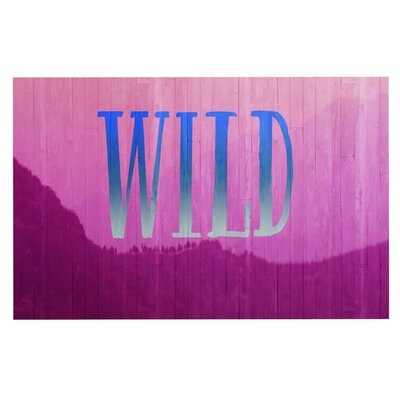 Catherine McDonald Wild Decorative Doormat