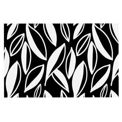 Emine Ortega Leaving Doormat Color: Black/White