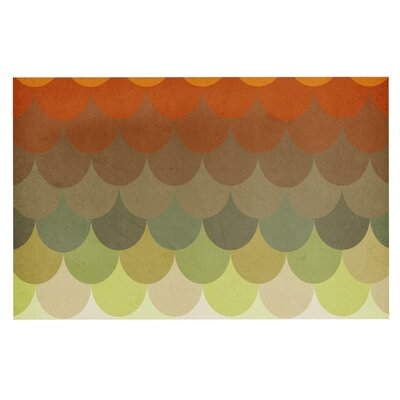 Danny Ivan Half Circle Waves Color Doormat