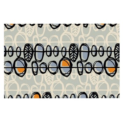 Gill Eggleston Benin Doormat Color: Black/Gray