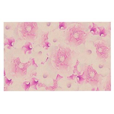 Deepti Munshaw Blush Bouquet Roses Doormat