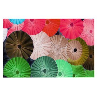 Heidi Jennings Parasol Paper Circle Doormat