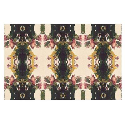 Deepti Munshaw Enchanted Garden Floral Doormat