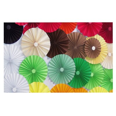 Heidi Jennings Adored Colored Circles Doormat