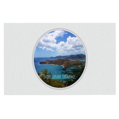 Deepti Munshaw Enjoy Explore Experience Island Doormat