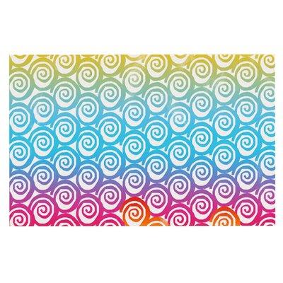 Frederic Levy-Hadida Ethnic Spirals Doormat