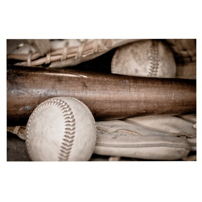 Debbra Obertanec Play Ball Baseball Doormat