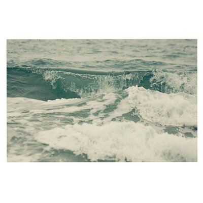 Cristina Mitchell Crashing Waves Ocean Decorative Doormat