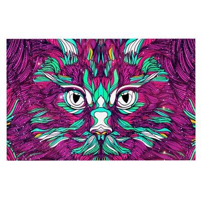 Danny Ivan Space Cat Doormat