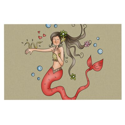 Carina Povarchik Mermaids Lovely Decorative Doormat