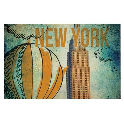 iRuz33 New York Doormat