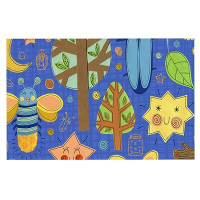 Jane Smith Lightning Bug Doormat