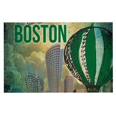 iRuz33 Boston Doormat
