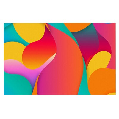 Danny Ivan Still Life Warm Abstract Doormat