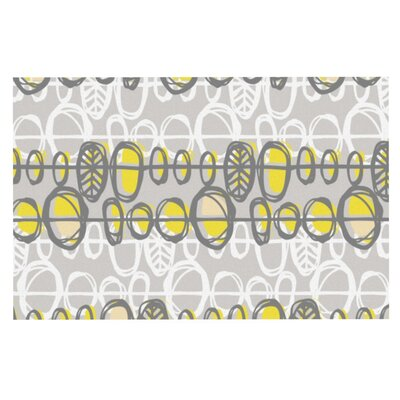 Gill Eggleston Benin Doormat Color: Yellow/Gray